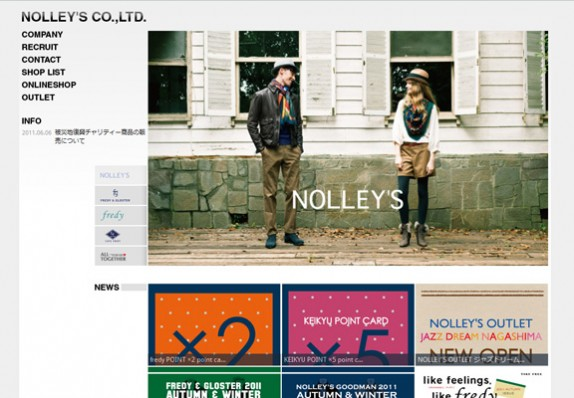 NOLLEY'S ノーリーズ