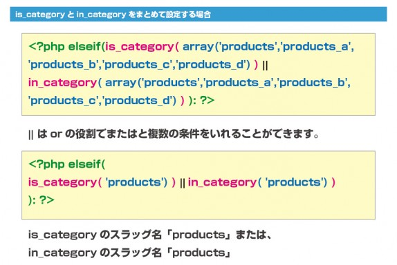 is_categoryとin_categoryをまとめて設定